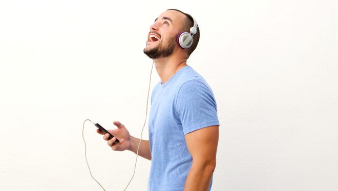 Streaming music on your cell phone can eat up a lot of data from your plan.
