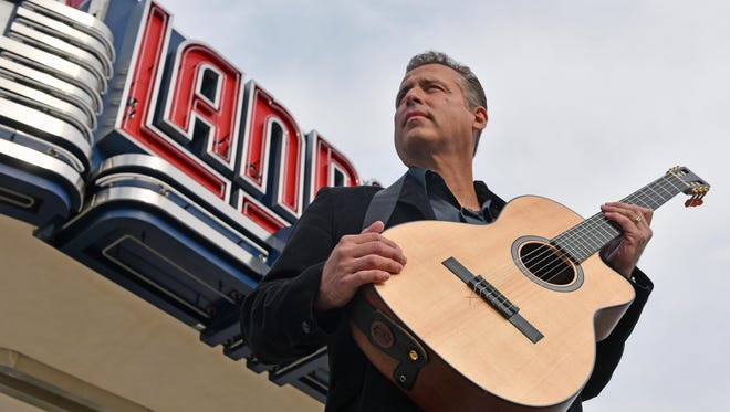 Emo Luciano will be joined by an 18-piece orchestra Dec. 18 as the Vineland native puts on a Christmas show at Landis Theater.