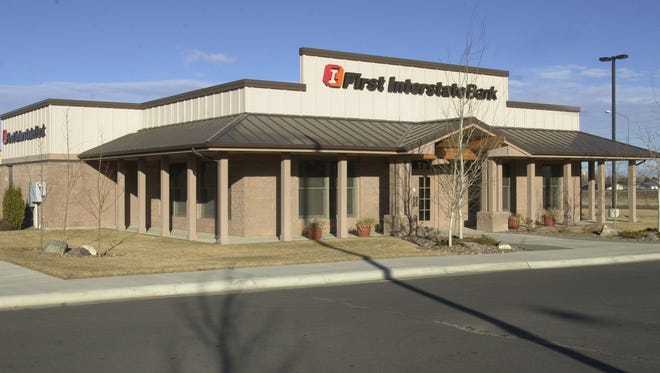 First Interstate Bank will close its drive through branch in Marketplace July 1.