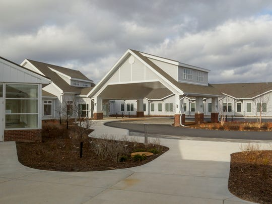 The new main entrance to Kendal at Ithaca faces east