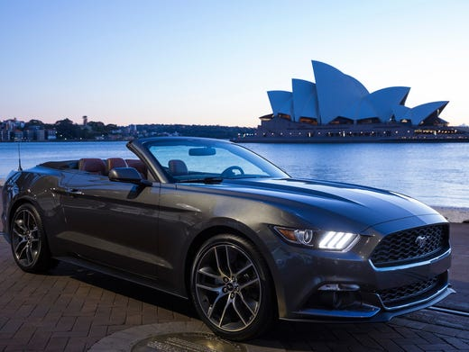 Ford Says Mustang Is Now The World S Top Sports Coupe