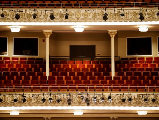 During Music Hall renovations, about 1,000 seats were