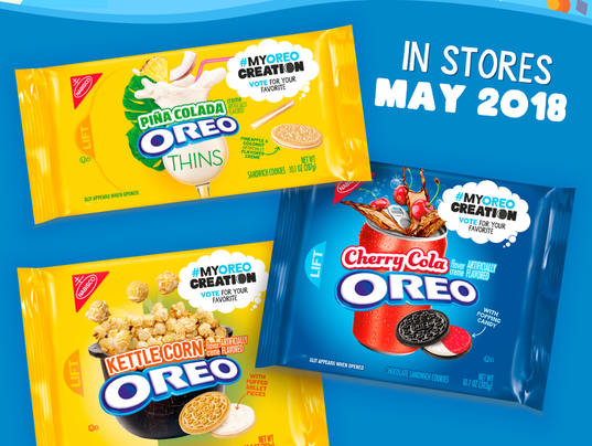 Oreo announced new flavors