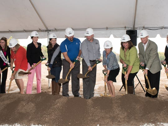 Ground was broken on the Wisconsin Agricultural Education