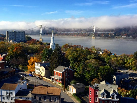 View of downtown Poughkeepsie. Carrie Yale/ The journal