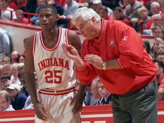 FILE – Bob Knight has refused to come back to IU to