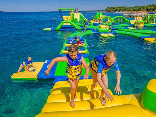 3 Michigan state parks add water playgrounds for summer