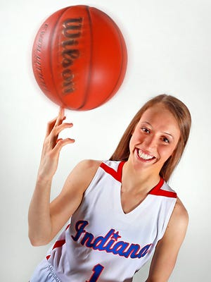 Ali Patberg, of Columbus North High School, the 2015 Indy Star Miss Basketball.