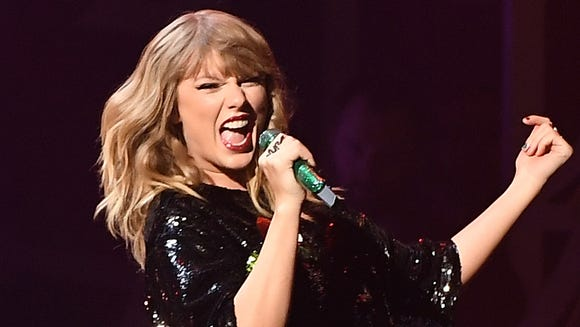 Taylor Swift, performing in December, has released