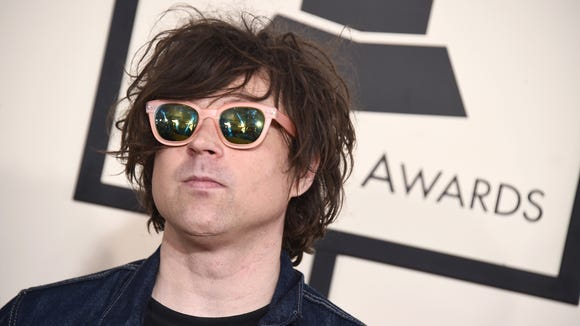 Ryan Adams arrives at the 57th annual Grammy Awards at the Staples Center in Los Angeles earlier this year.