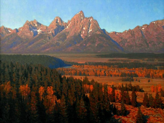 """Another September,"" oil by Todd S. Matson, part of"