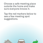 New Nest app provides tips for what to do in an emergency.