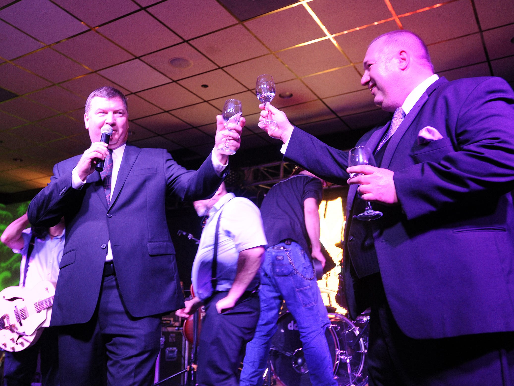 A sold out crowd of 800 attended the annual Dewey Beach Winter Gala on Saturday at the Bay Center in Dewey Beach.
