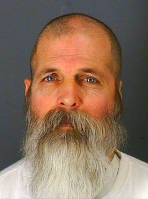 In this undated photo provided by the Oneida County Sheriff's Office in Oriskany, N.Y., 54-year-old Leon Tennant is shown.