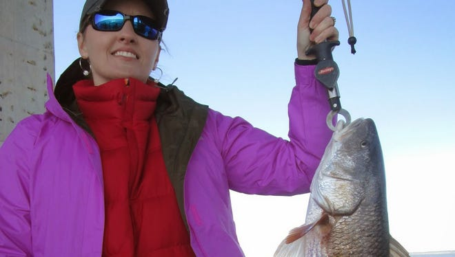 Calm seas and warmer weather put anglers on fish this weekend.