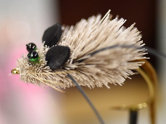 A mouse fly by Tradd Little, 12, of Greenville, S.C.,