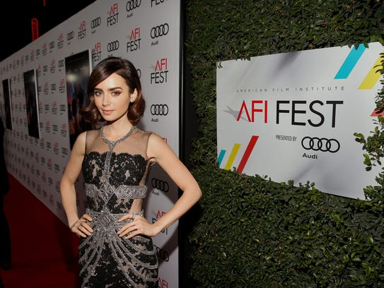 Lily Collins stars in 'Rules Don't Apply.'