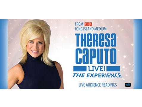 Enter to win 2 tickets to see Theresa Caputo captivate her audience at the Weidner Center! Enter 3/6-3/30