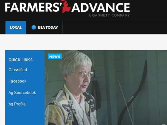 Quick links on the left side of the home page take you to some of our top destinations, including classifieds and the Ag Sourcebook and Ag Profile.