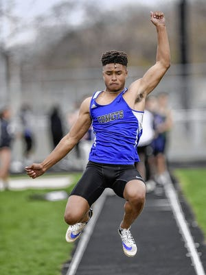 Central Crossing graduate Anthony Lowe was looking forward to using his senior season with the track and field team to help prepare for the start of his football career at Tiffin University.
