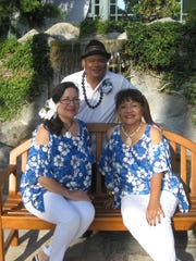 Janice Waller Boufiou, Robert Cabrera and Benni Benavente Schwab originally from Guam, are the musical trio known as Island Mist in San Diego.