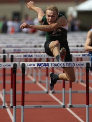Coleman's Josh Pillath is second in the area for the boys 110-meter hurdles, high jump, long jump and discus.