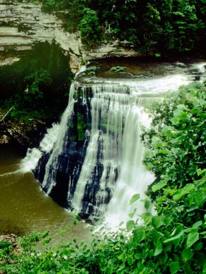 Burgess Falls State Park is just one of the 56 state parks offering special hikes the day after Thanksgiving.