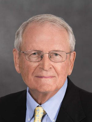 """Nicholas G. Penniman IV is a retired publisher of the St. Louis Post-Dispatch, former Conservancy of Southwest Florida Board chair and author of """"Nature's Steward: A History of the Conservancy of Southwest Florida"""""""