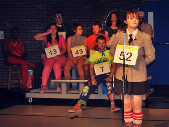 """Barefoot Productions in Plymouth performs """"The 25th Annual Putnam County Spelling Bee."""" The show ends Sept. 25."""