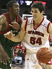 Mike Wilkinson during his UW-Madison playing days.