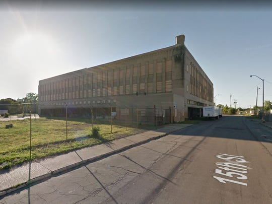 The former Detroit Public Schools Book Depository