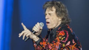"""Jagger says he hates letting the fans down but he's """"looking forward to getting back on stage as soon as I can."""""""