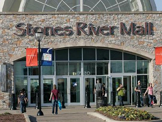 stones river mall movie theater on track