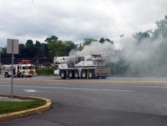 Carlisle Road vehicle fire