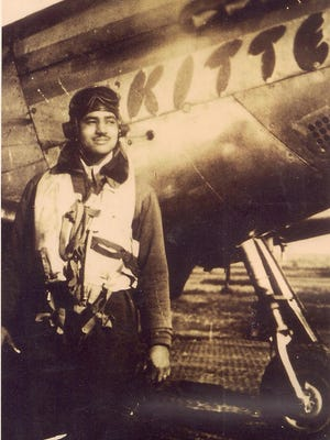 Charles McGee of the Tuskegee Airmen flew with the 302nd Fighter Squadron in Italy during WWII.