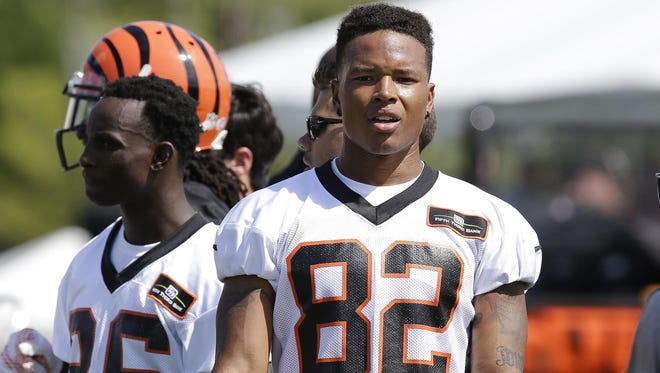 Marvin Jones Jr. spent the past four seasons with the Cincinnati Bengals, playing second (and sometimes third) fiddle to A.J. Green and others on offense. He'll share the Lions' No. 1 receiver role with Golden Tate.