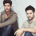 DAN + SHAY will perform at the W.H. Lyon Fairgrounds on Aug. 3.
