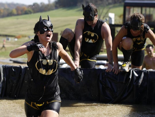 MudStash 5K obstacle race at Perfect North Slopes in