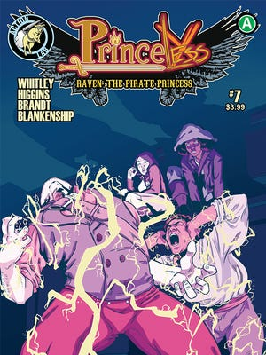 The cover of Princeless: Raven, the Pirate Princess.
