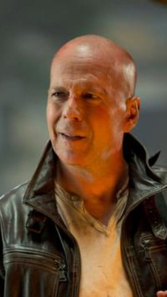 """Bruce Willis appears in a scene from the motion picture """"A Good Day to Die Hard."""""""