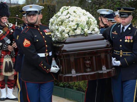 News: Nancy Reagan-Funeral Service