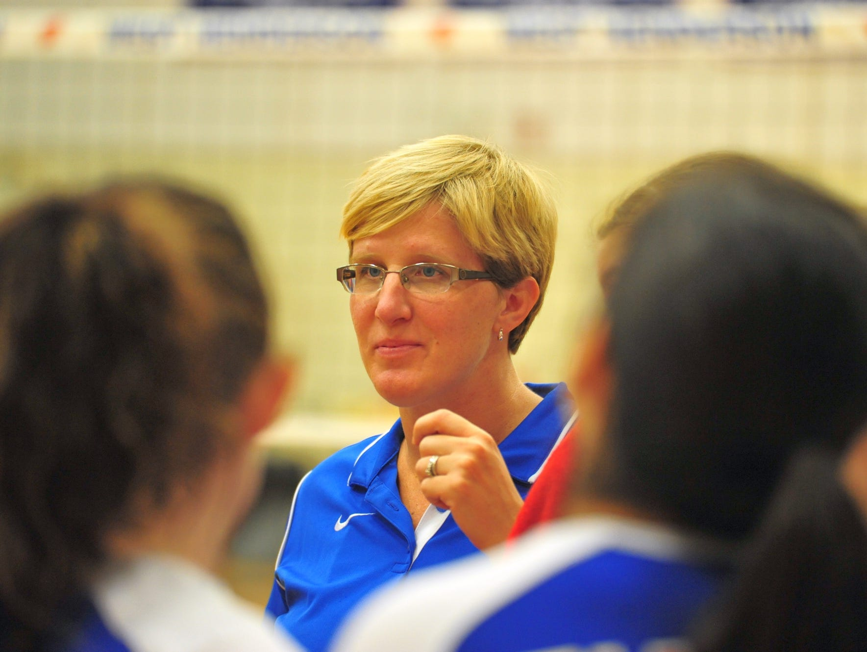 West Henderson volleyball coach Tiffany Lowrance and the Falcons are the host school for the Aug. 8 Mountain Bash scrimmage event.