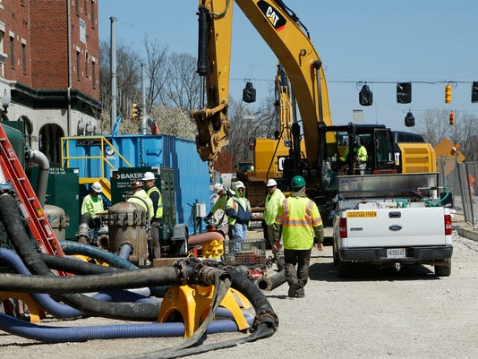LAF WL sewer project moving along