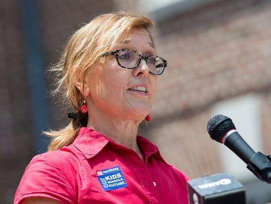 Mary Schorse, President of the Christina PTA Council,