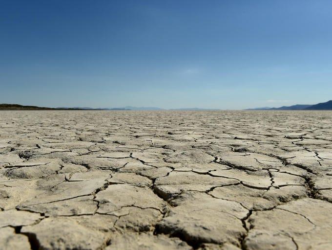 The Black Rock Desert on Wednesday June 28, 2017. The