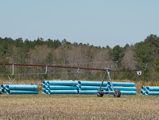 Artesian Resources Corp. is constructing a large wastewater