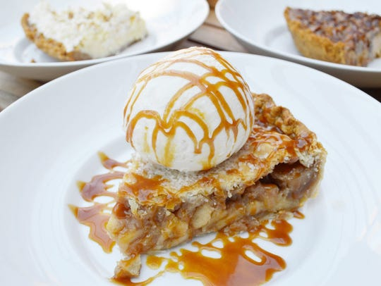 The apple pie from Sweet Provisions is one of several