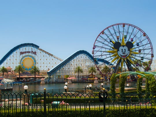 10. Disney California Adventure Park – Anaheim, California: