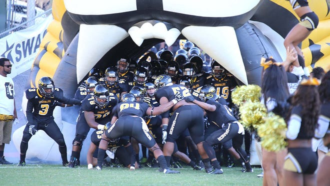 Grambling will play at UL Lafayette in 2018 in the first ever meeting between the two schools.