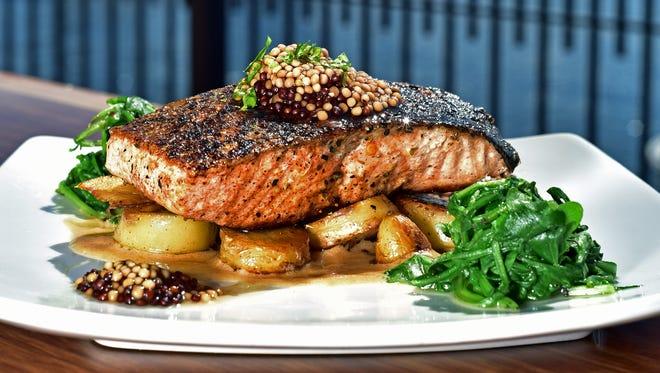 Salmon Vermouth, courtesy of Jaco's Bayfront Bar & Grille.